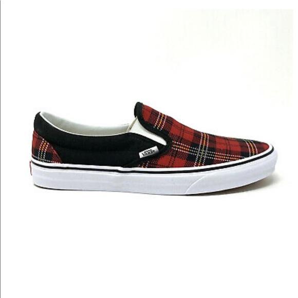 Vans Shoes | Vans Classic Slip On Plaid